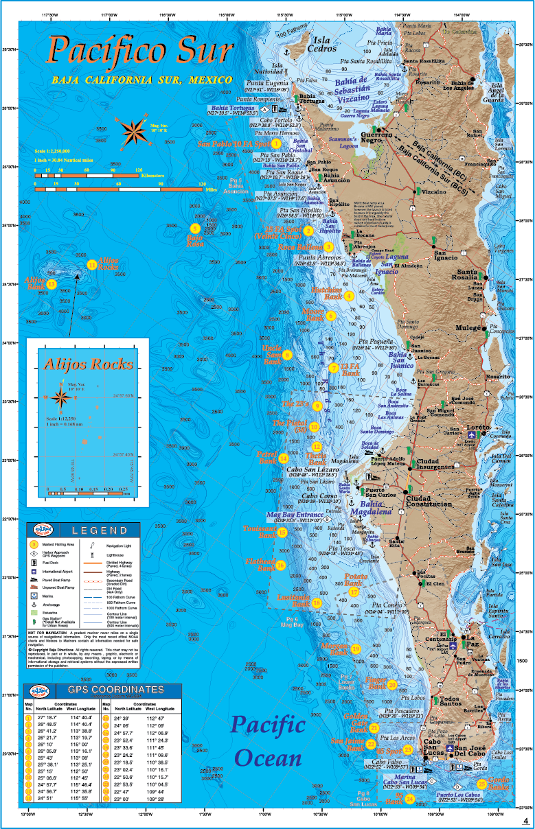 Sportfishing Atlas Baja California Edition - Baja Directions